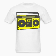 Ghetto Blaster T-Shirts