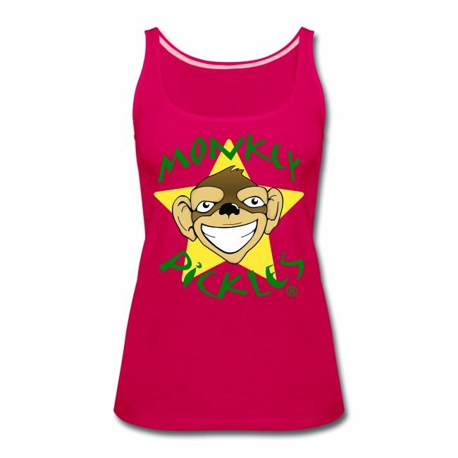 Monkey Pickles Women's Premium Tank Top