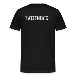 Sweetmeats. Logo Shirt (White Logo) - Men's Premium T-Shirt