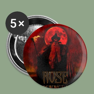Rose - Witchburner #1 Button - Small Buttons