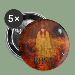 Rose - Witchburner #2 Button - Small Buttons