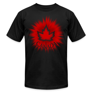 Cool Canada T-shirts Men's Canada Shirts - Men's T-Shirt by American Apparel