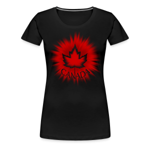 Cool Canada T-shirts Women's Plus Size Canada Shirts - Women's Premium T-Shirt