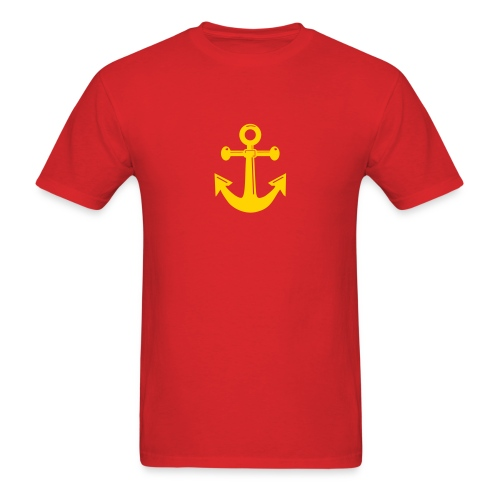 Mens Anchor Tee - Men's T-Shirt