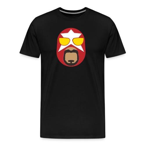 Big Train Masked Man Logo Tee - Men's Premium T-Shirt