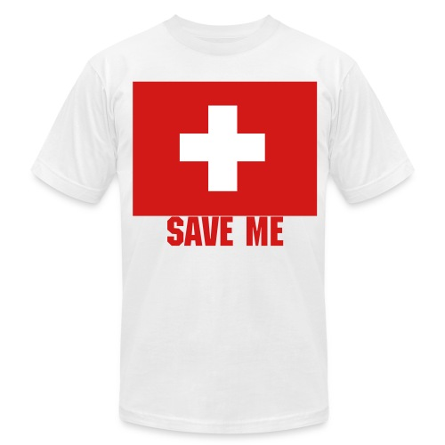 Save Me T-Shirt - Men's Fine Jersey T-Shirt