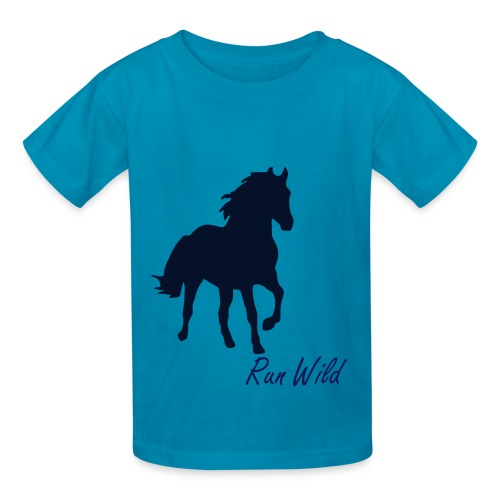 Run Wild and Love - Kids' T-Shirt