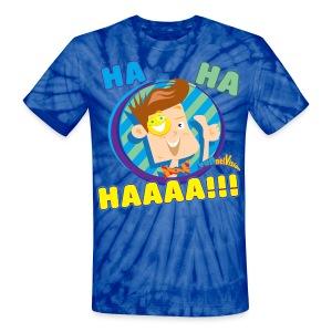 FUNnel Vision Adult Tye Dye T-Shirt - Unisex Tie Dye T-Shirt