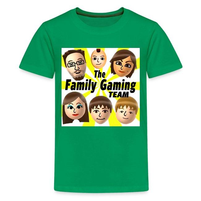 FGTEEV Kids T-Shirt (w/ White Background)