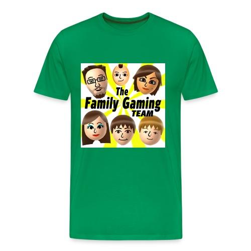 FGTEEV Adult T-Shirt (w/ White Background) - Men's Premium T-Shirt