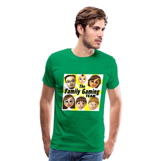 FGTEEV Adult T-Shirt (w/ White Background)