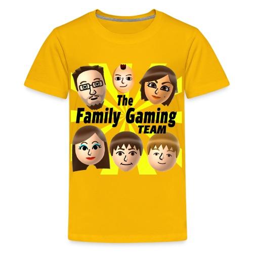 FGTEEV (No Background Logo) Kids Premium T-Shirt - Kids' Premium T-Shirt