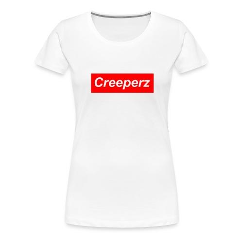CREEPERZ x Supreme Womens T-Shirt - Women's Premium T-Shirt