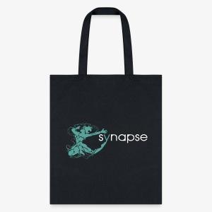 tote bag with teal logo - Tote Bag