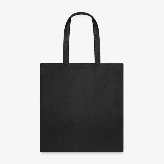 tote bag with teal logo