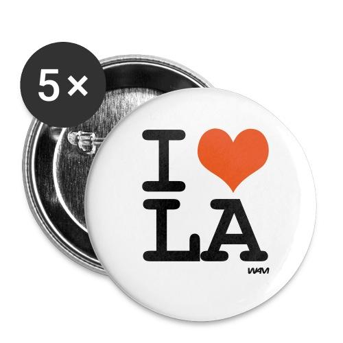 i love la - Small Buttons
