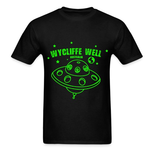 UFO Wycliffe Well - Australia - Men's T-Shirt
