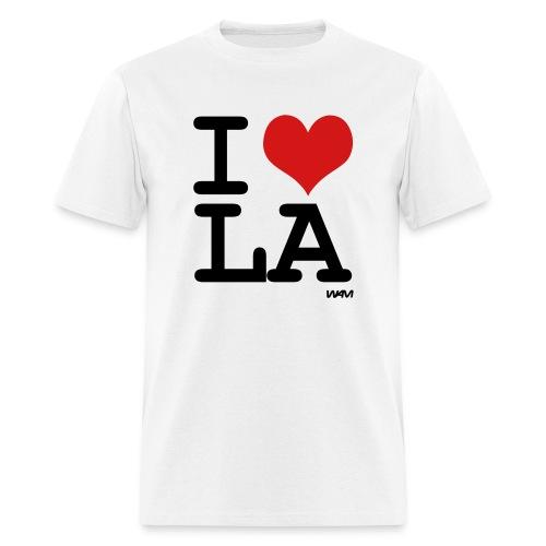i love LA - Men's T-Shirt