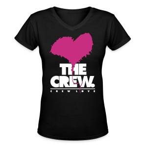 Crew Love - They Loving The Crew - Women's V-Neck T-Shirt