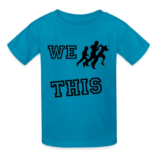 We Run This! T-shirt - Kids' T-Shirt