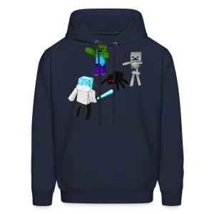 Minecraft Mob Hoodie - Men's Hoodie