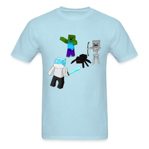 Minecraft Mob Shirt - Men's T-Shirt