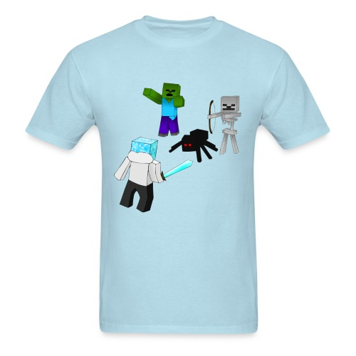Minecraft Mob Shirt - Men's T-Shirt
