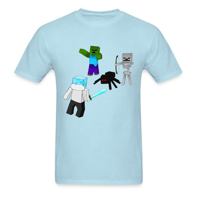 Minecraft Mob Shirt