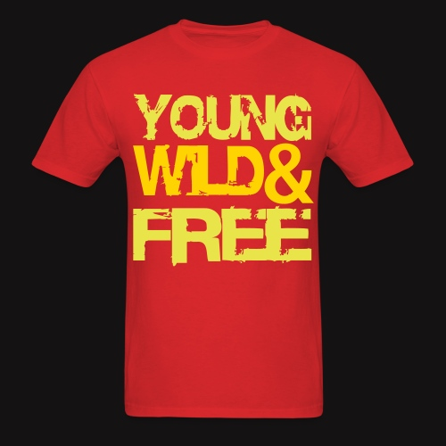 young wild and free 2 - Men's T-Shirt