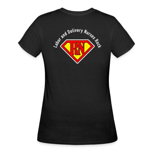 Labor and Delivery Nurses Rock - Women's 50/50 T-Shirt