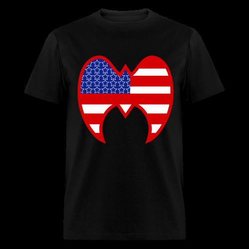 Ultimate Warrior Rumble Americana Shirt - Men's T-Shirt