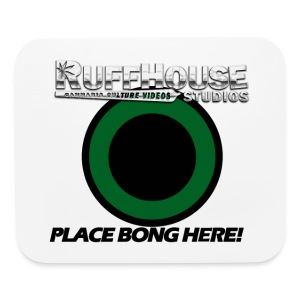 RuffHouse Bong Coaster/ Mouse Pad - Mouse pad Horizontal
