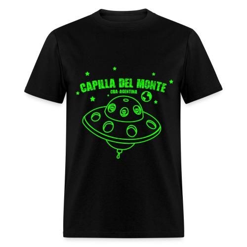 OVNI CAPILLA DEL MONTE - CBA ARGENTINA - Men's T-Shirt