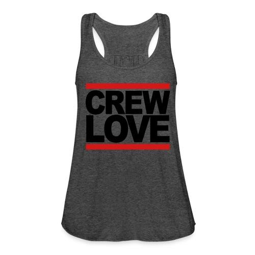 Crew Love  - Women's Flowy Tank Top by Bella