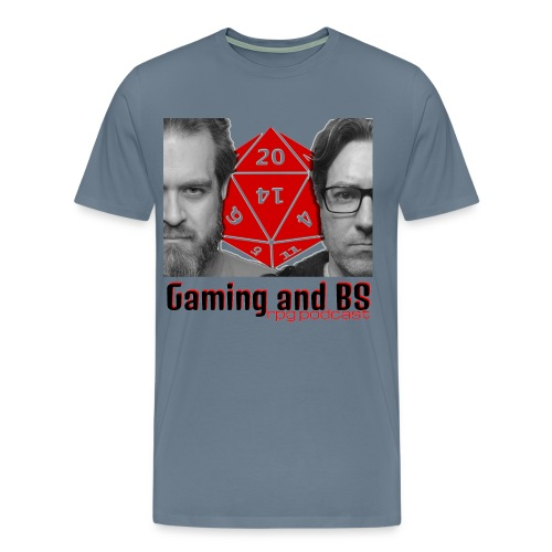 Gaming and BS Album Art - Men's Premium T-Shirt