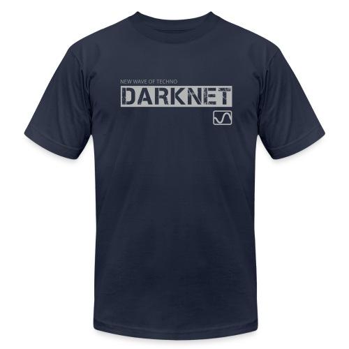 Darknet label t-shirt, navy - Men's  Jersey T-Shirt