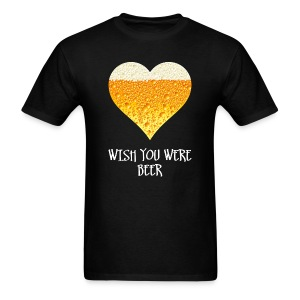 Wish you were beer t-shirt - Men's T-Shirt