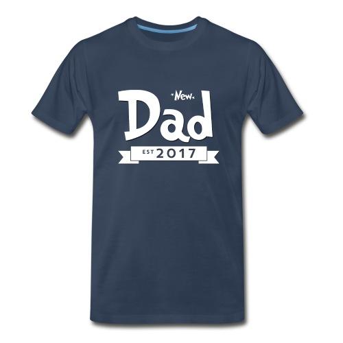 New Dad 2017 - Men's Premium T-Shirt