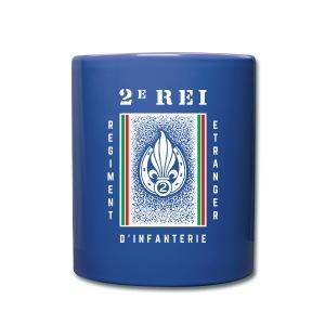 2e REI Badge - Foreign Legion - Mug - Full Color Mug