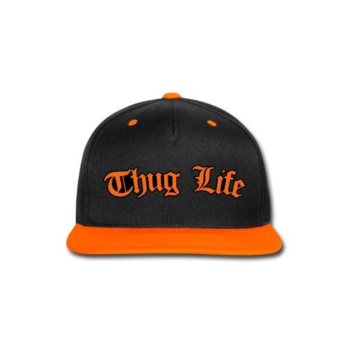New Thug Life Snapback - Snap-back Baseball Cap