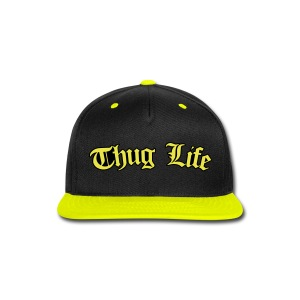 New Thug Life Snapback - Snap-back Baseball Cap
