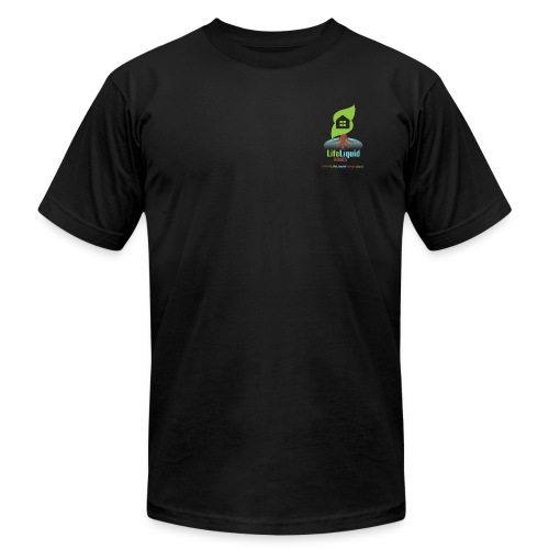 LifeLiquid Homes Promo Line - Men's Fine Jersey T-Shirt