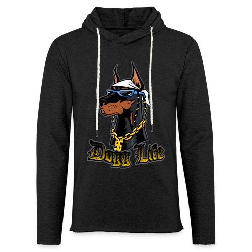 Dogg Life Hoodie - Unisex Lightweight Terry Hoodie