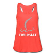 Tanks ~ Women's Flowy Tank Top by Bella ~ Tom Daley Tank