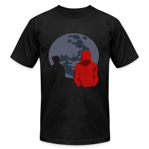 Little Red Riding Hood (Sterek) - Men's T-Shirt by American Apparel