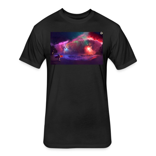 GeN Nebula  - Fitted Cotton/Poly T-Shirt by Next Level