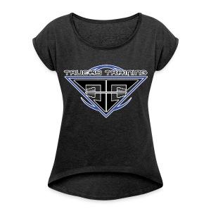 Short Sleeve - Women's Roll Cuff T-Shirt
