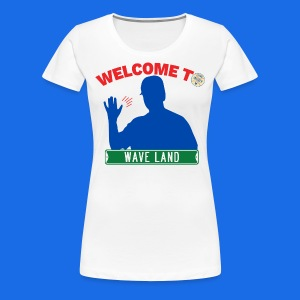 Welcome to Wave Land (with CI logo) - Women's Premium T-Shirt