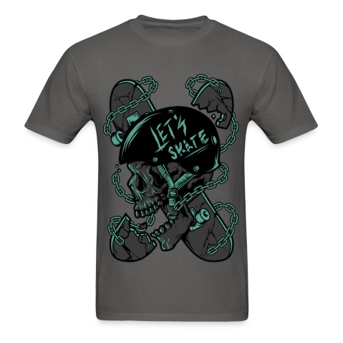 Let's Skate Men's T-shirt - Men's T-Shirt