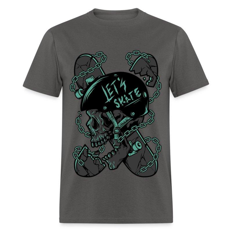 Let's Skate Men's T-shirt - Men's T-Shirt